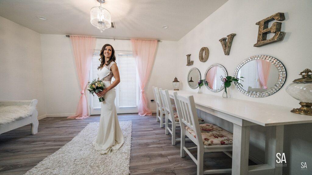 The Cottage Bridal Suite